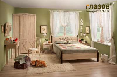 Спальня ADELE (Адель) Глазов-мебель Комплект 4