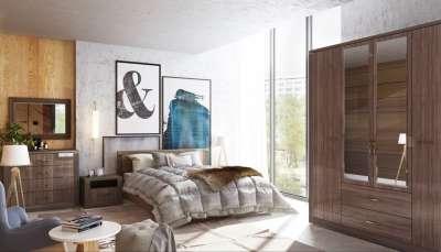 Мебель для спальни Париж Ижмебель Комплект 1