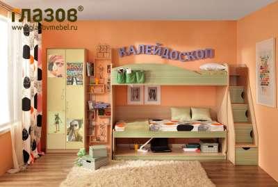 Глазов-мебель Молодежная комната «Калейдоскоп» Комплект 5