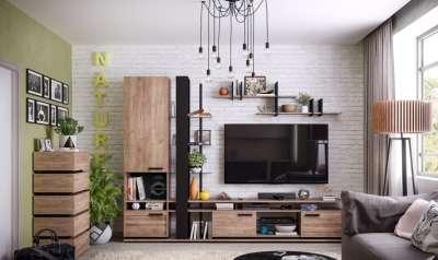 Мебель для гостиной NATURE Глазов-мебель Вариант 3