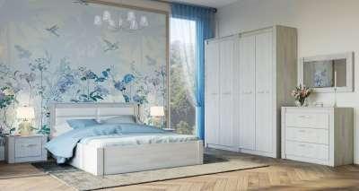 Спальня Монако (Семья Мебелони) Комплект 1
