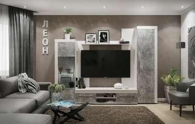 Мебель для гостиной Леон Глазов-мебель Вариант 2
